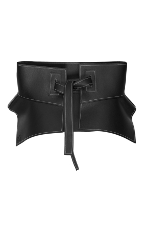 Loewe Obi Belt (Backside) - Black - 38,700 THB