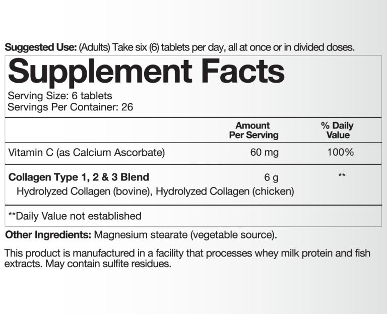 New-Collagen-Supplement-Facts